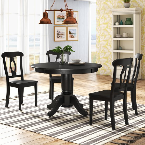 Wayfair In Trendy Wyatt 6 Piece Dining Sets With Celler Teal Chairs (View 4 of 20)