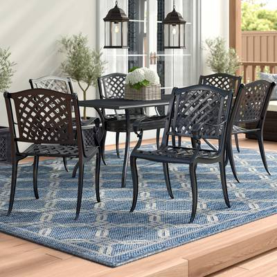 Wayfair Inside Kirsten 6 Piece Dining Sets (View 14 of 20)