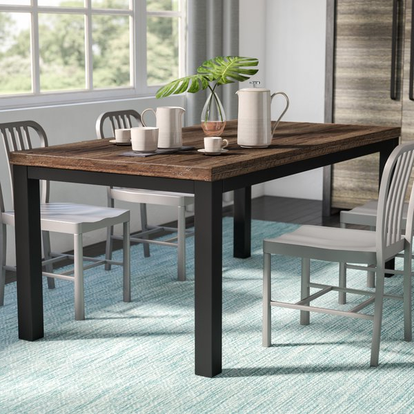 Wayfair Intended For Current Valencia 72 Inch Extension Trestle Dining Tables (View 16 of 20)