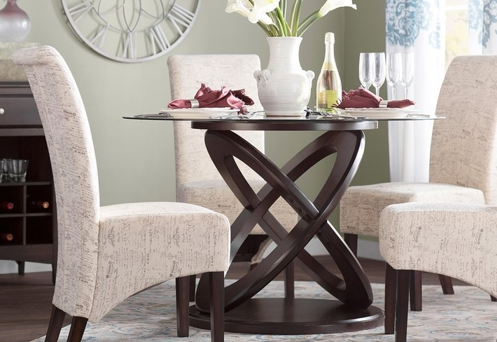 Wayfair Intended For Garten Marble Skirted Side Chairs Set Of  (View 17 of 20)