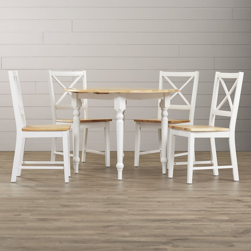 Wayfair Intended For Laurent 5 Piece Round Dining Sets With Wood Chairs (View 13 of 20)