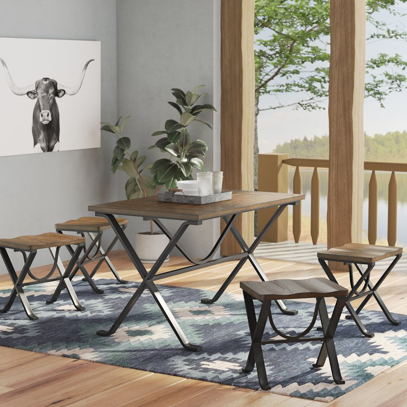 Wayfair Pertaining To Fashionable Market 5 Piece Counter Sets (View 14 of 20)