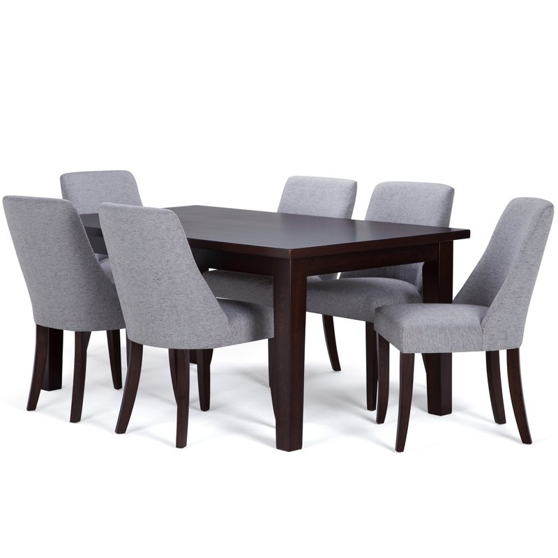 Wayfair Pertaining To Walden Upholstered Side Chairs (View 7 of 20)