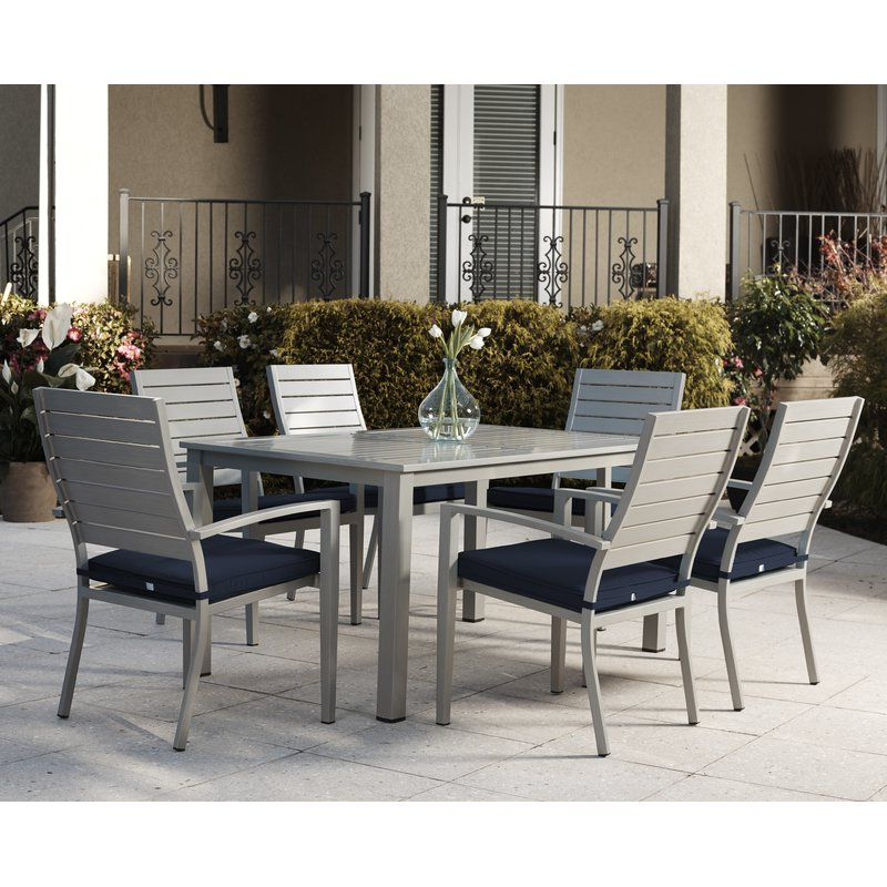 Wayfair Throughout Popular Logan 7 Piece Dining Sets (View 17 of 20)