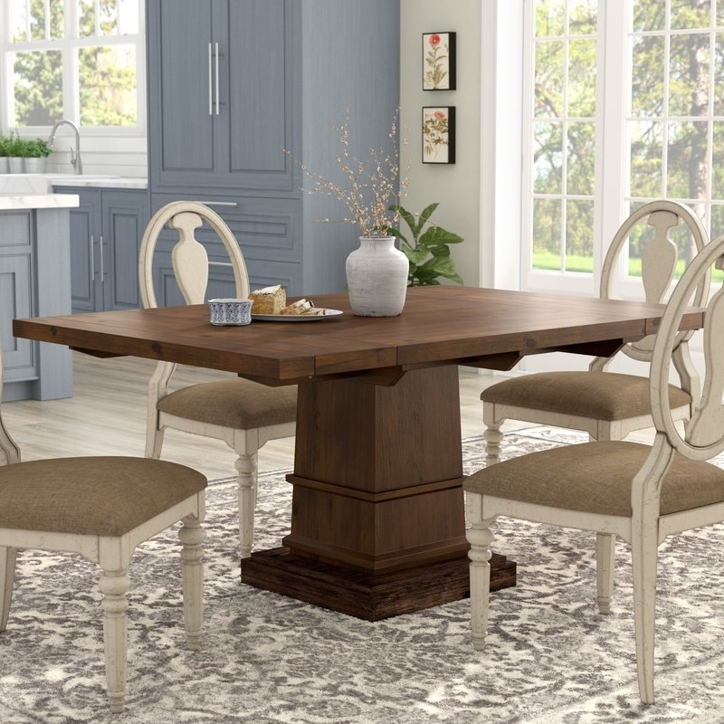 Wayfair With Current Amos 6 Piece Extension Dining Sets (View 19 of 20)