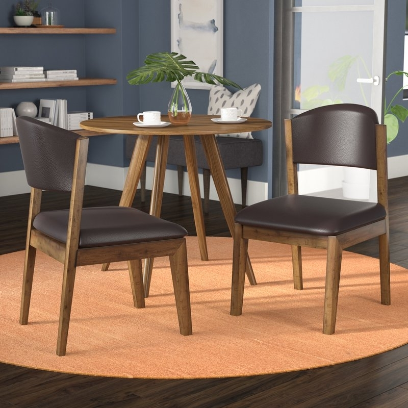 Wayfair With Most Recent Caira Upholstered Side Chairs (View 13 of 20)