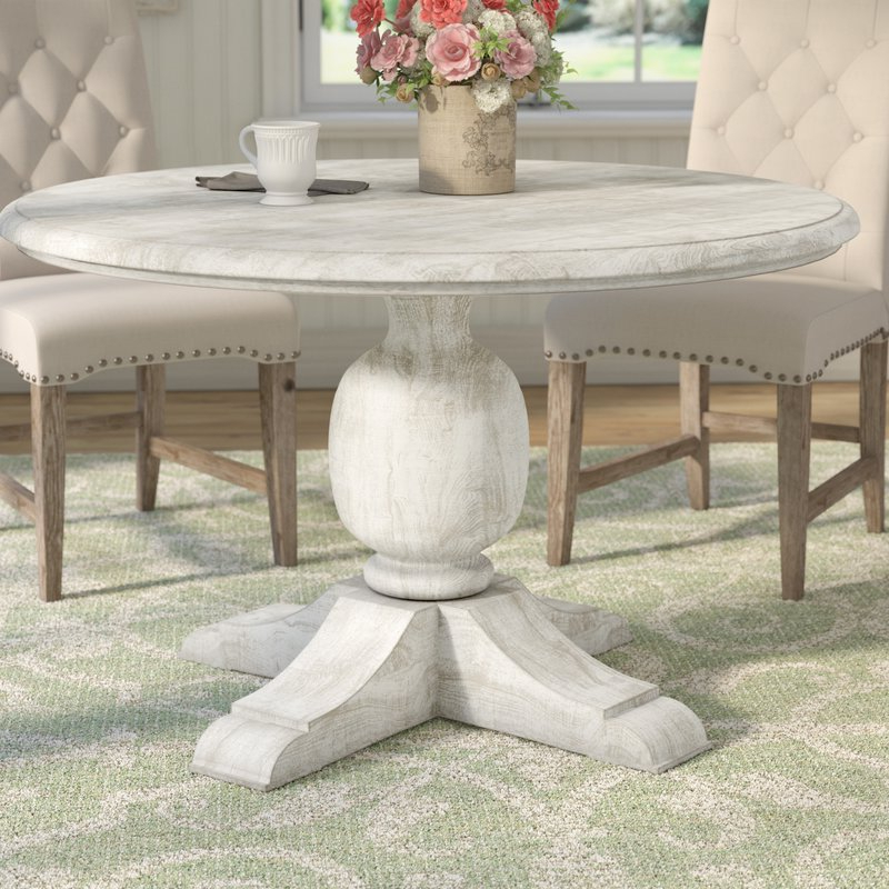Wayfair Within Current Valencia 5 Piece Round Dining Sets With Uph Seat Side Chairs (View 20 of 20)