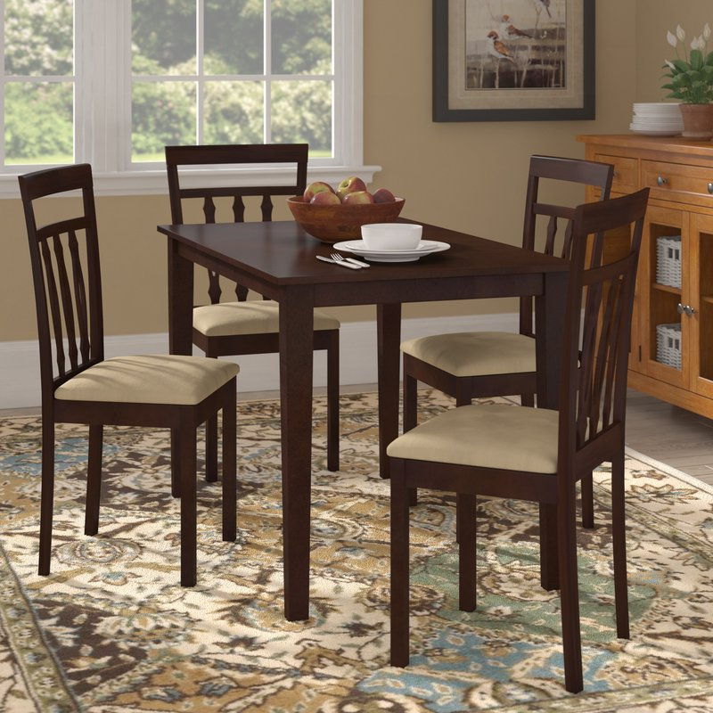 Wayfair Within Hyland 5 Piece Counter Sets With Bench (View 18 of 20)