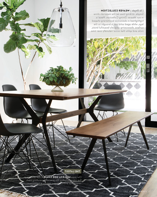 Weaver Ii Dining Tables With Widely Used Living Spaces – Fall 2017 – Weaver Dining Table (View 18 of 20)