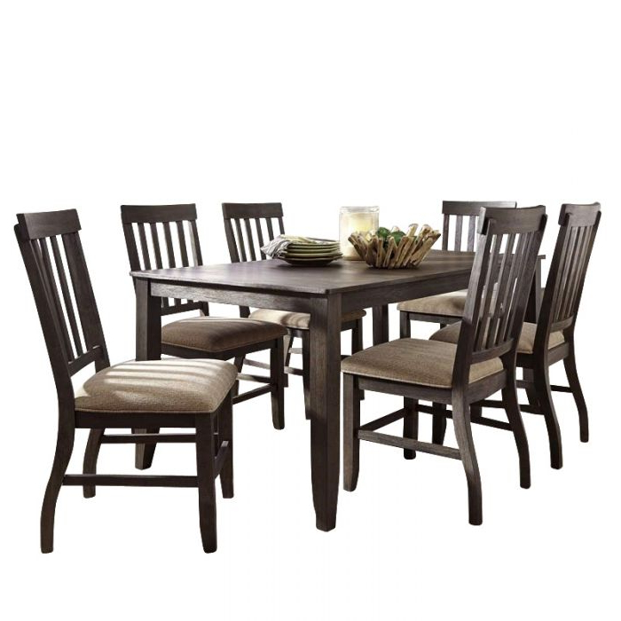 Weekends Only Within Market 7 Piece Dining Sets With Side Chairs (View 6 of 20)