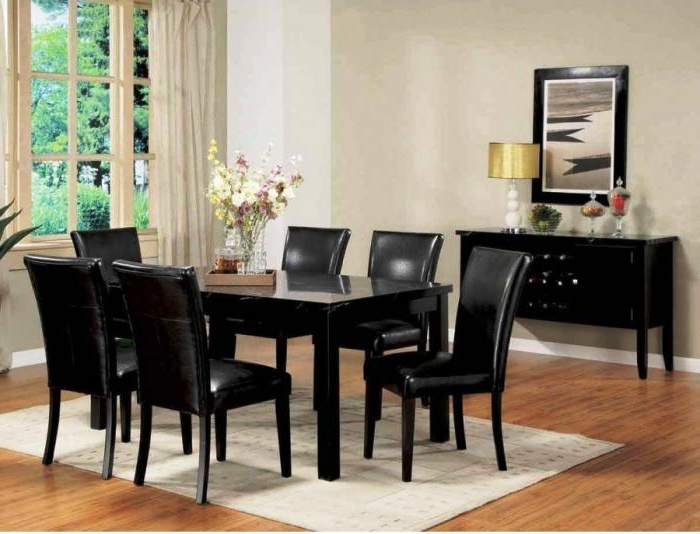 Well Known 10 Modern Dining Room Sets With Awesome Upholstery – Rilane Inside Cream Lacquer Dining Tables (View 20 of 20)