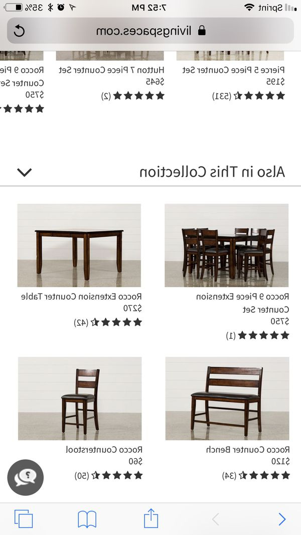 Well Known 2 Ikea Franklin Counter Stools (furniture) In San Francisco, Ca Throughout Rocco 9 Piece Extension Counter Sets (View 9 of 20)