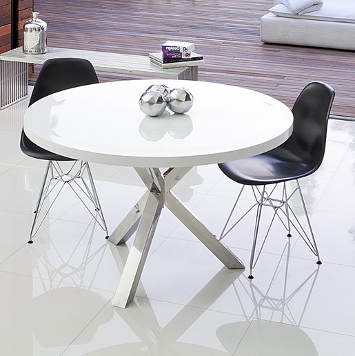 Well Known 7 White Round Modern Dining Tables – Cute Furniture With Regard To White Circle Dining Tables (View 7 of 20)