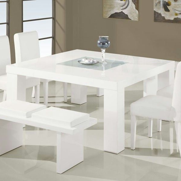 Well Known All White 8 Seater Dining Table (View 16 of 20)