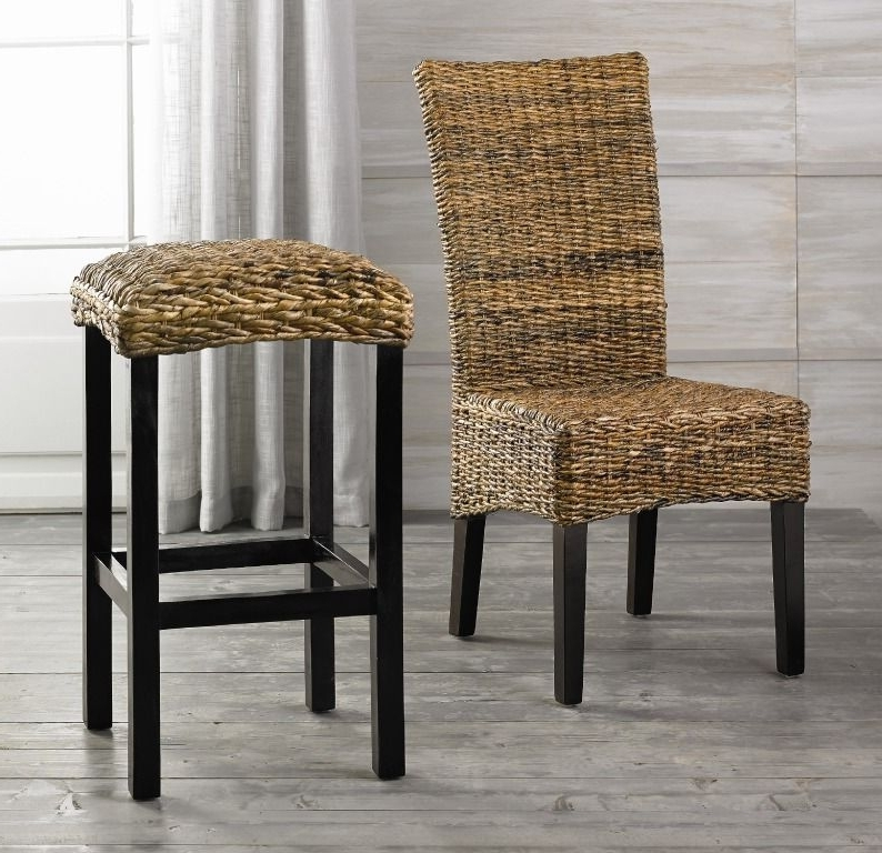 Well Known Banana Leaf Chairs With Cushion Intended For Banana Leaf Chair And Bar Stool (View 18 of 20)