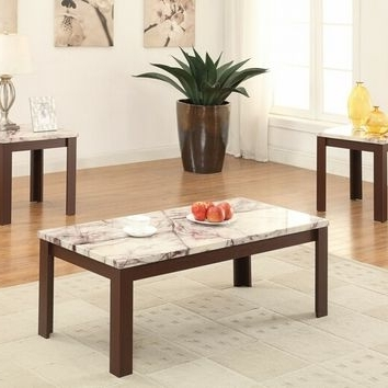 Well Known Best Wood Coffee Table Set Products On Wanelo Intended For Carly Triangle Tables (View 15 of 20)