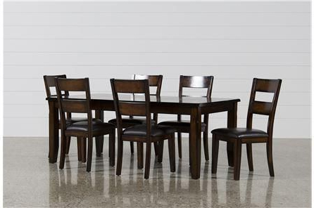 Well Known Bradford 7 Piece Dining Set W/bardstown Side Chairs (View 9 of 20)