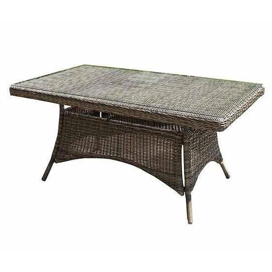 Well Known Bridgman Mayfair Rectangular 160cm Dining Table & Glass Regarding Mayfair Dining Tables (View 13 of 20)