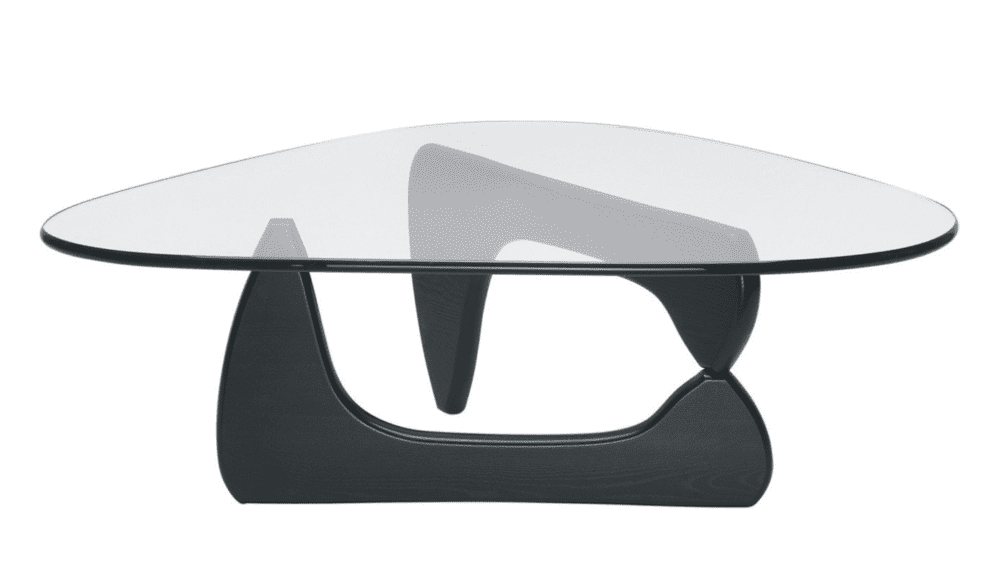 Well Known Carly Triangle Tables Within Noguchi Coffee Tablevitra – Nw3 Interiors (View 9 of 20)