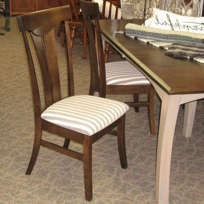 "Well Known Chandler Fabric Side Chairs With Regard To 48"" X 72"" Chandler Dining Table With 4 12"" Leaves, Set Includes (View 11 of 20)"