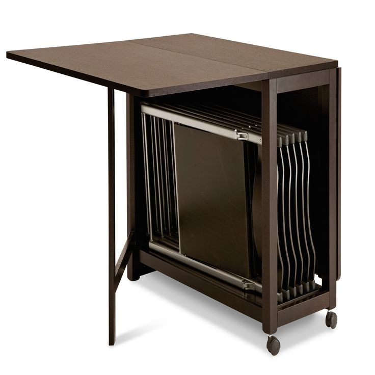 Well Known Cheap Folding Dining Tables In Best 25 Foldable Dining Table Ideas On Pinterest Foldable Table Fold (View 15 of 20)