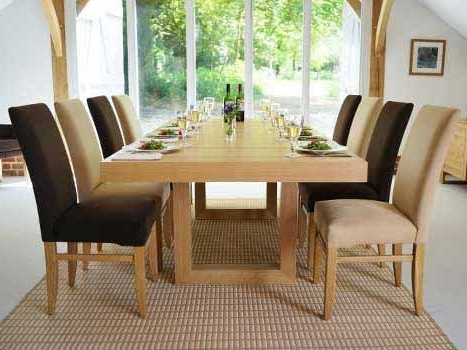Well Known Contemporary Dining Tables Oak & Walnut (View 16 of 20)