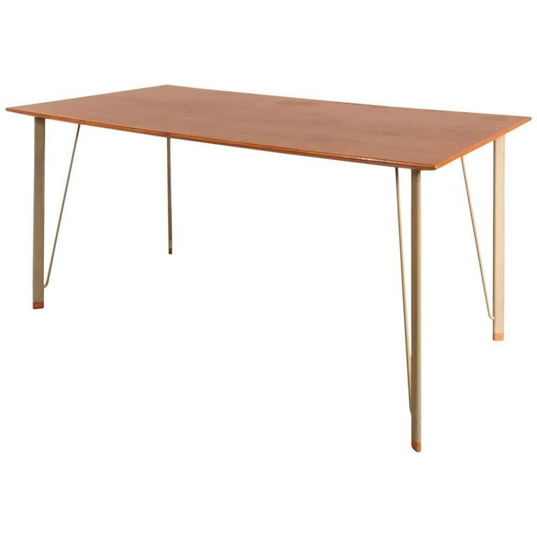 Well Known Danish Dining Tables Throughout Danish Dining Tablearne Jacobsen For Fritz Hansen, 1950s For (View 8 of 20)