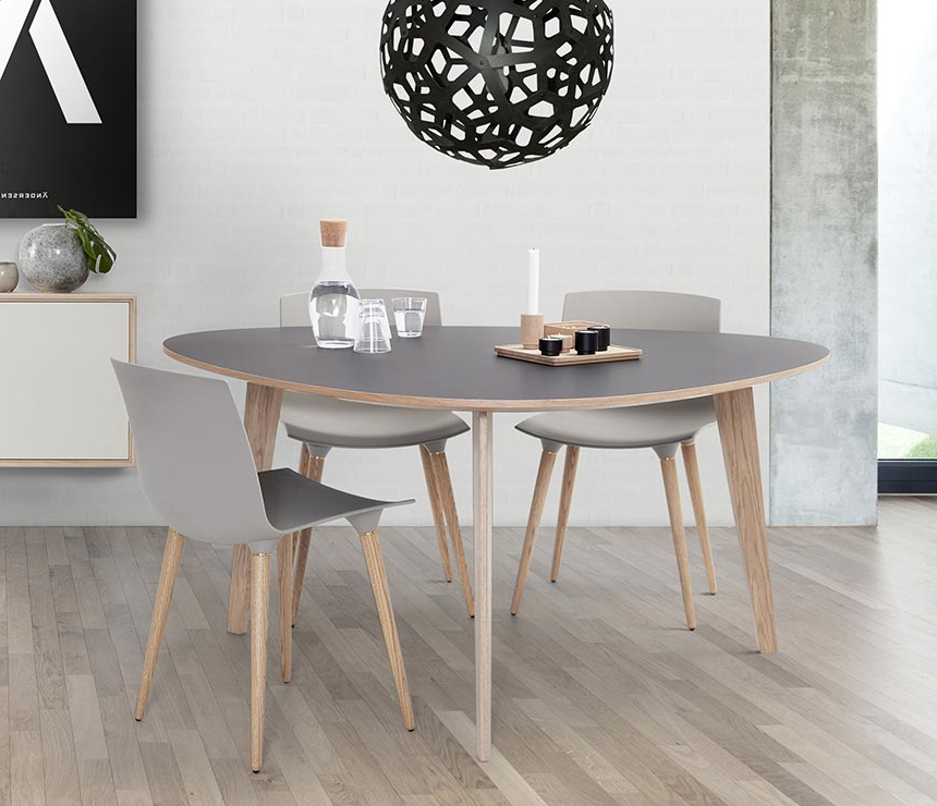 Well Known Danish Style Dining Tables With Danish Modern Dining Room Table And Chairs – Architecture Home Design • (View 16 of 20)