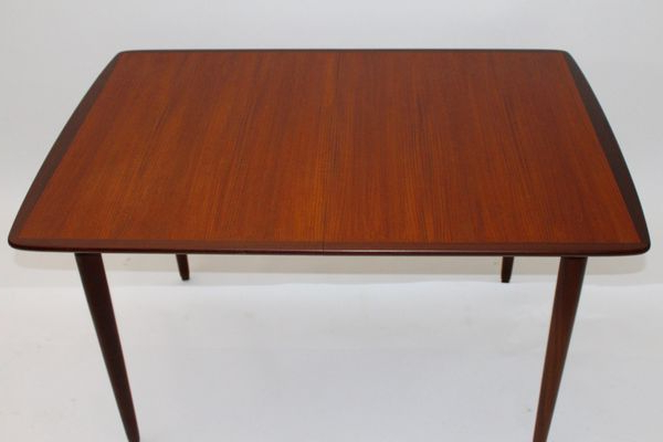 Well Known Danish Teak, Rosewood, And Ash Rectangular Extending Dining Table Pertaining To Lassen 7 Piece Extension Rectangle Dining Sets (View 19 of 20)