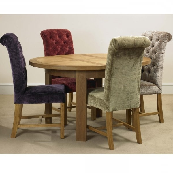 Well Known Deluxe Button Back Dining Chair In Velvet Fabric A Wide Choice Of In Button Back Dining Chairs (View 4 of 20)