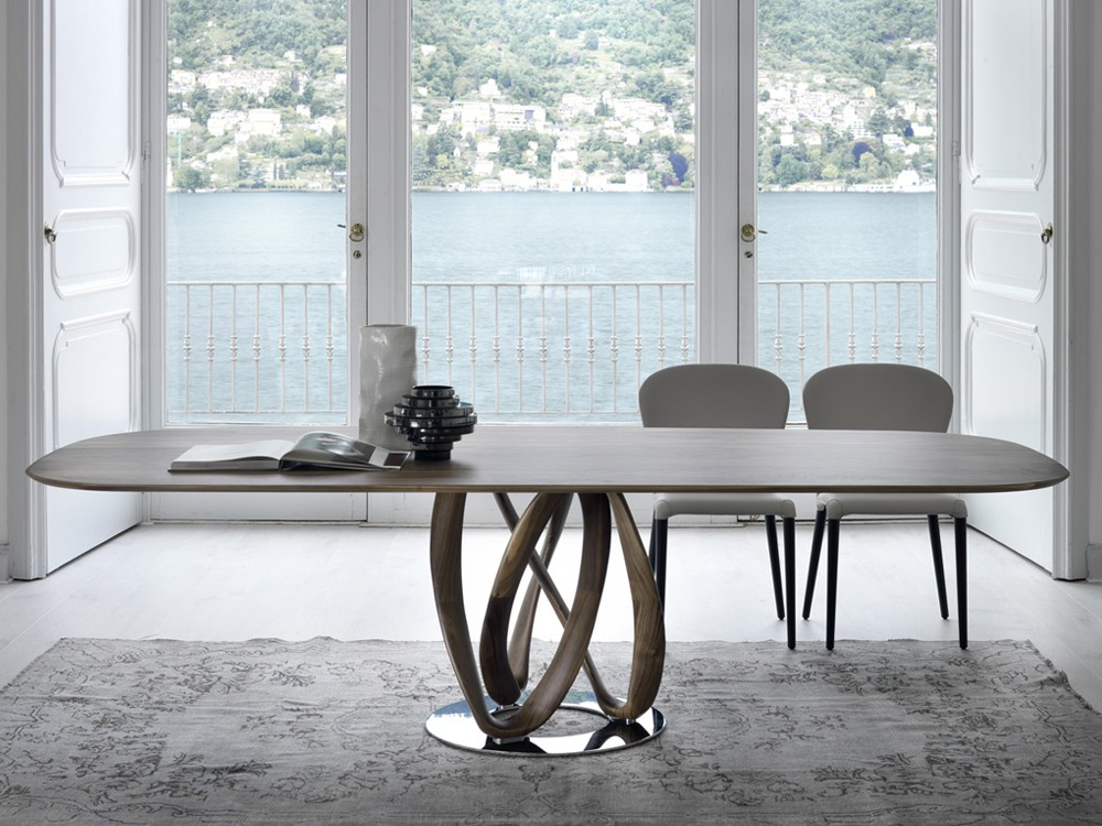 Well Known Designer Dining Tables – Contemporary Tables – Chaplins – Chaplins Regarding Dining Tables (View 16 of 20)