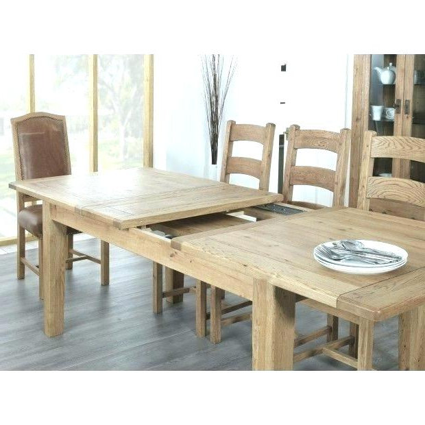 Well Known Dining Table Seats 14 Farmhouse Rustic Oak Large Extending Dining Inside Extending Dining Tables With 14 Seats (View 20 of 20)