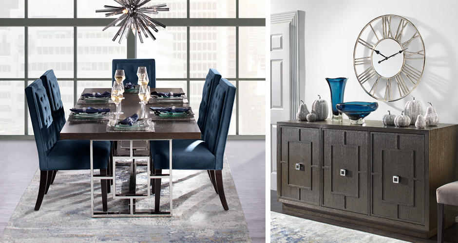 Well Known Dining Table Sets For Dining Room Furniture & Elegant Dining Room Sets (View 11 of 20)