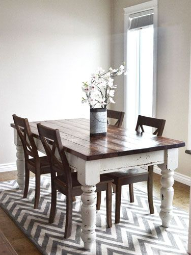 Well Known Dining Tables And Chairs For Two Pertaining To How To Stain Wood Furniture (View 14 of 20)