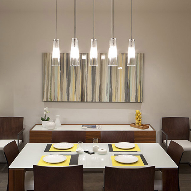 Well Known Dining Tables With Led Lights Pertaining To Dining Room Lighting – Chandeliers, Wall Lights & Lamps At Lumens (View 16 of 20)