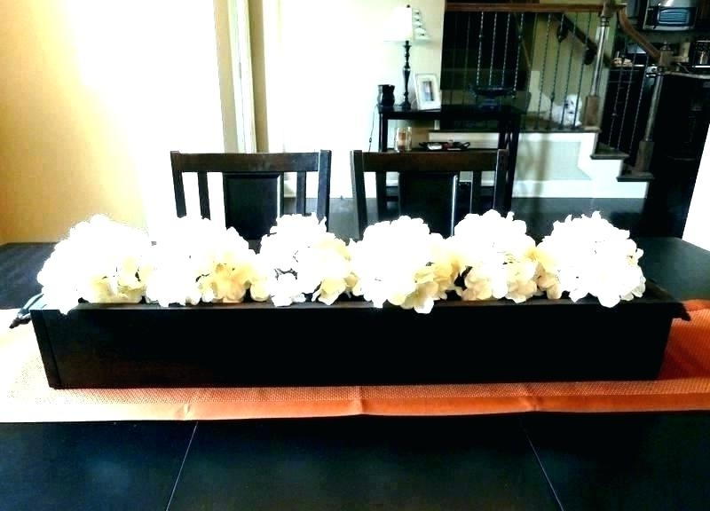 Well Known Flowers On Dining Table Decorations For Dining Table How To Decorate Intended For Artificial Floral Arrangements For Dining Tables (View 20 of 20)