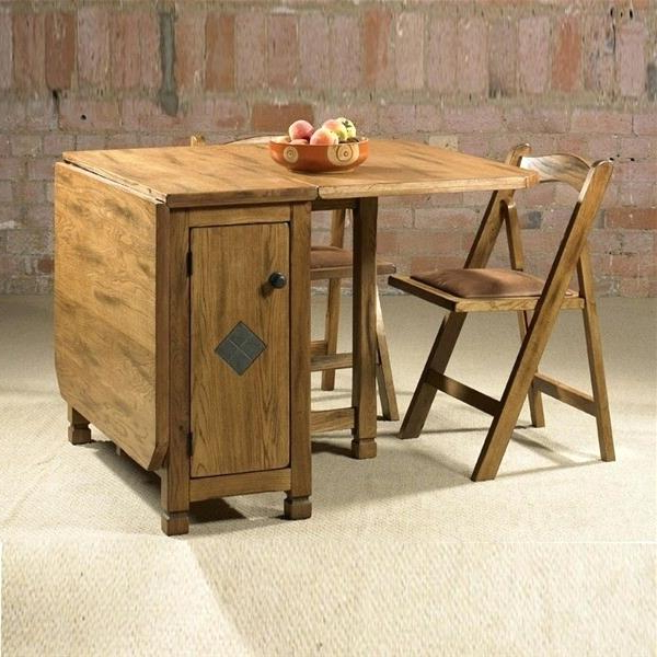 Well Known Fold Up Dining Tables For Small Spaces Dining Tables For Small Intended For Folding Dining Tables (View 10 of 20)