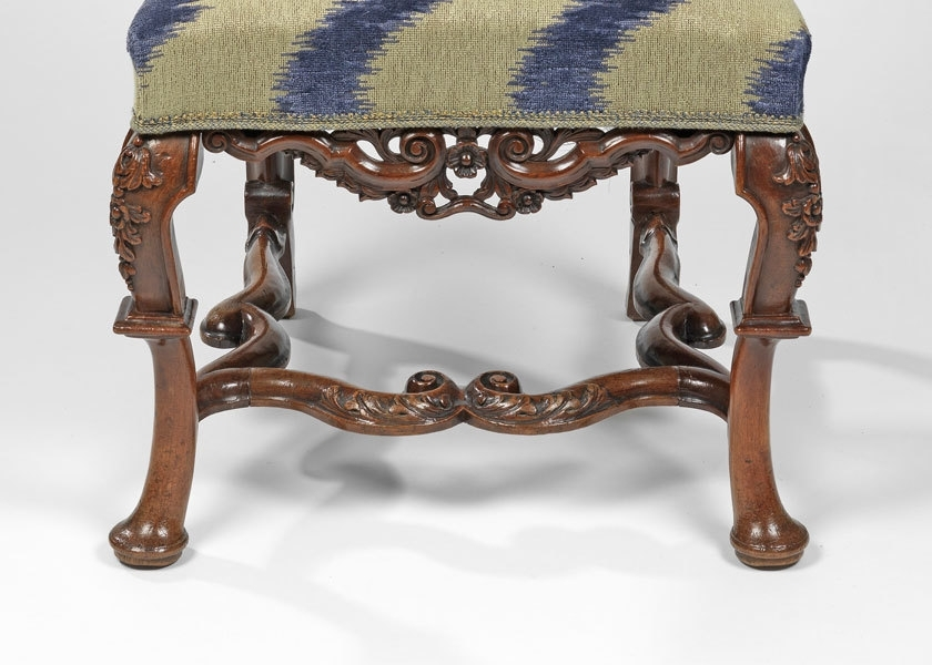 Well Known Frank Partridge :: A Set Of Twelve Queen Anne Walnut Side Chairs Pertaining To Partridge Side Chairs (View 18 of 20)