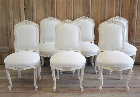 Well Known Full Bloom Cottage Regarding Garten Onyx Chairs With Greywash Finish Set Of (View 7 of 20)