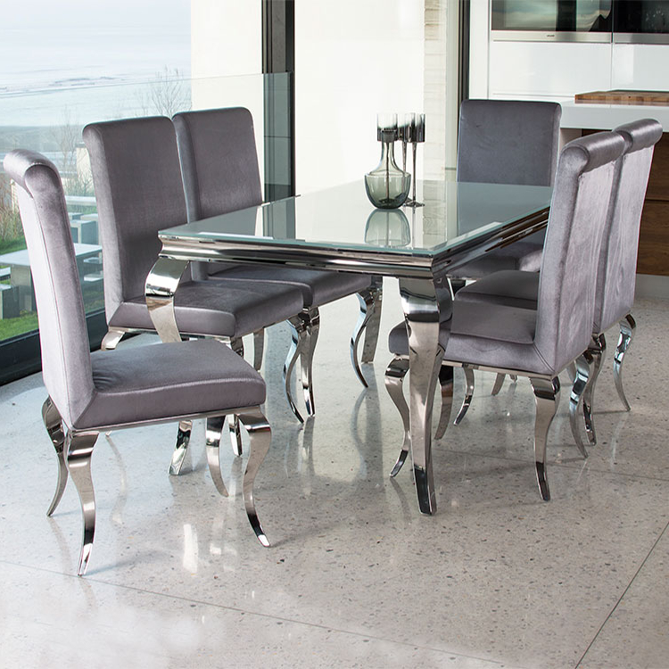 Well Known Glass And Chrome Dining Tables And Chairs Regarding (View 9 of 20)