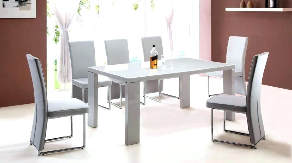 Well Known Gloss Dining Tables Sets Intended For High Gloss Dining Table Sets High Gloss Kitchen Table And Chairs (View 18 of 20)