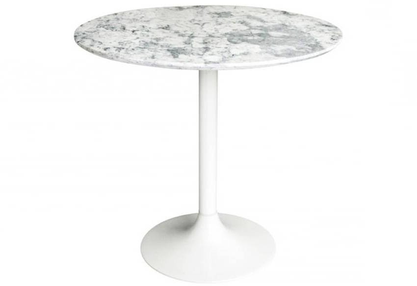 Well Known Hnd – Genoa Dining Tables – Round Marble Tops – White Cast Iron Base With Regard To White Circular Dining Tables (View 19 of 20)