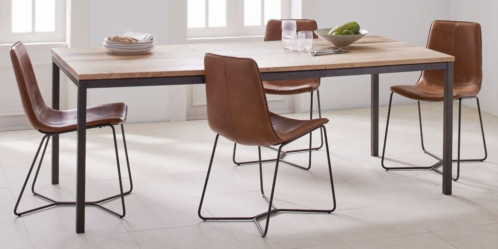 Well Known How To Buy A Dining Or Kitchen Table And Ones We Like For Under Throughout Natural Brown Teak Wood Leather Dining Chairs (View 14 of 20)