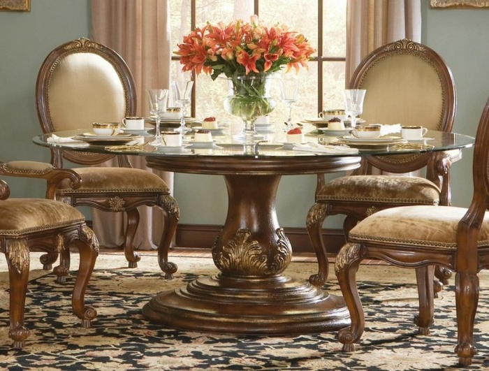 Well Known Ikea Round Glass Top Dining Tables Throughout  (View 19 of 20)