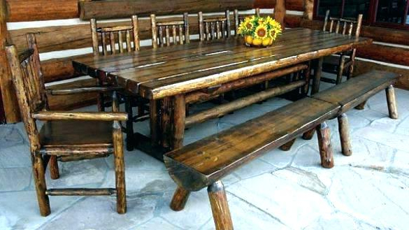 Well Known Indoor Picnic Style Dining Tables With Regard To Indoor Picnic Table Breakfast Table With Bench Latest Decoration (View 20 of 20)