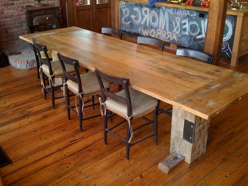 Well Known Inspiring Dining Tables – Home Bunch Interior Design Ideas In Barn House Dining Tables (View 18 of 20)