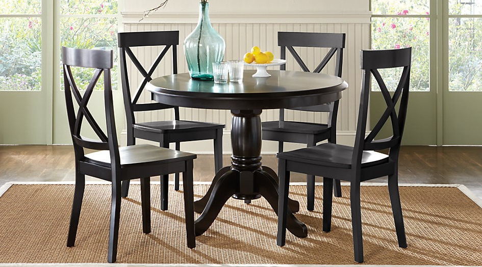 Well Known Jaxon Grey 5 Piece Round Extension Dining Sets With Wood Chairs Pertaining To Round Dining Chairs – Ijcrb (View 18 of 20)