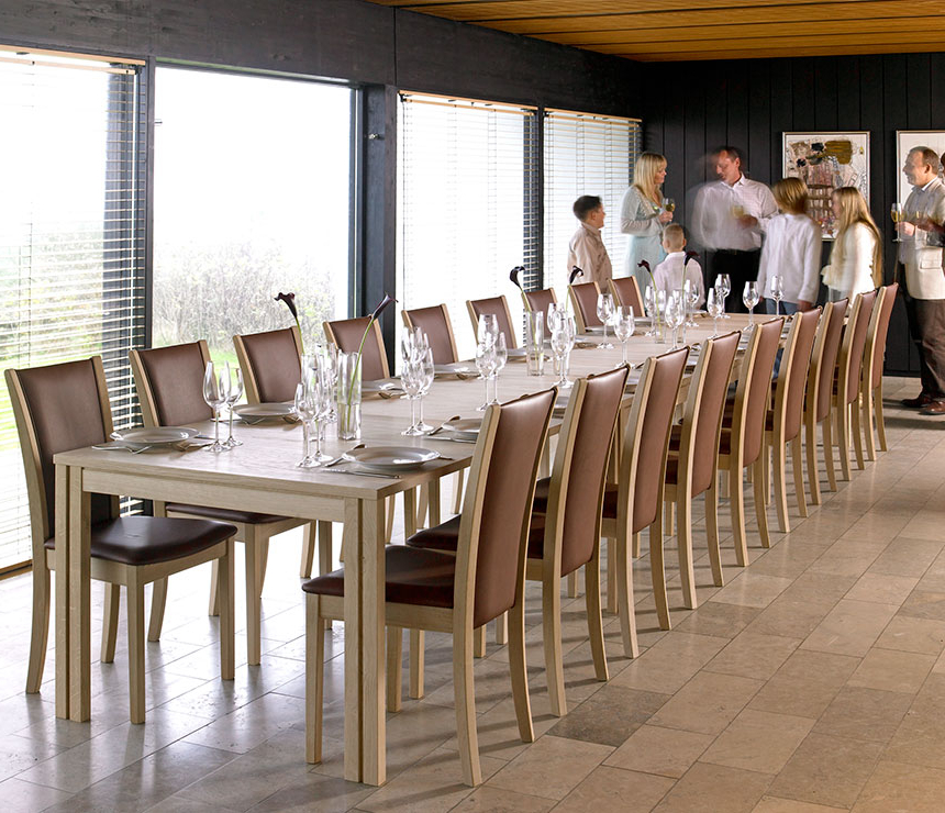 Well Known Long Dining Tables Intended For Wharfside Long Dining Table – Ai24 – Danish Wood Dining Furniture (View 19 of 20)