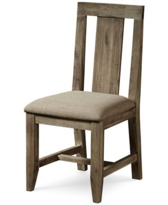Well Known Magnolia Home Contour Milk Crate Side Chairs Throughout Canyon Dining Panel Back Chair, Created For Macy's (View 11 of 20)
