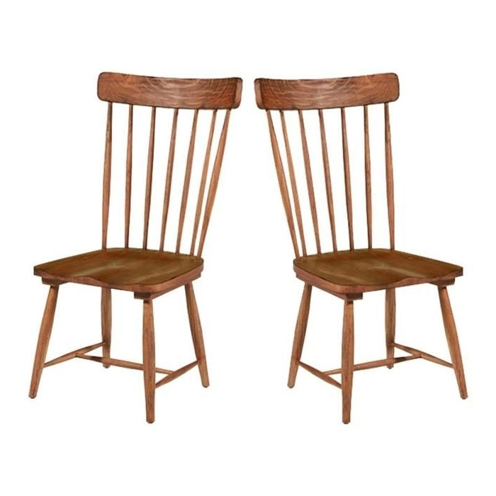 Well Known Magnolia Home Farmhouse Spindle Back Side Chair In Bench – Set Of 2 Intended For Magnolia Home Spindle Back Side Chairs (View 17 of 20)